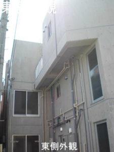 RCマンション東側外観