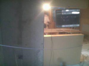 3階キッチン廻り 石膏ボード 厚-12.5㎜貼り (1枚目)