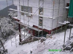 熱海別荘 木工事