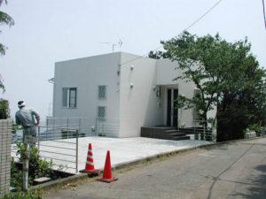 熱海別荘 竣工写真